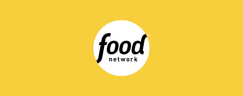 Food Network Logo on yellow background