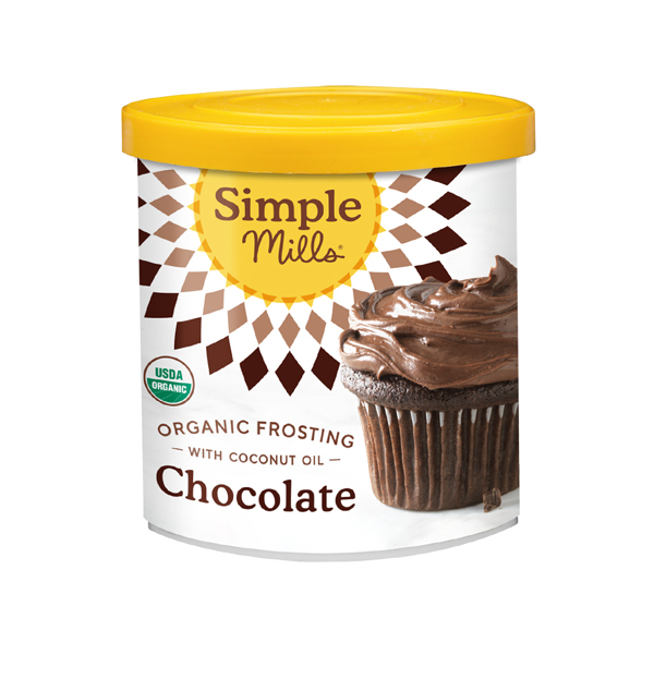 Simple Mills Organic Frosting with Coconut Oil Chocolate