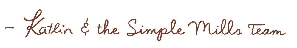 Katlin and The SimpleMills Team Signature
