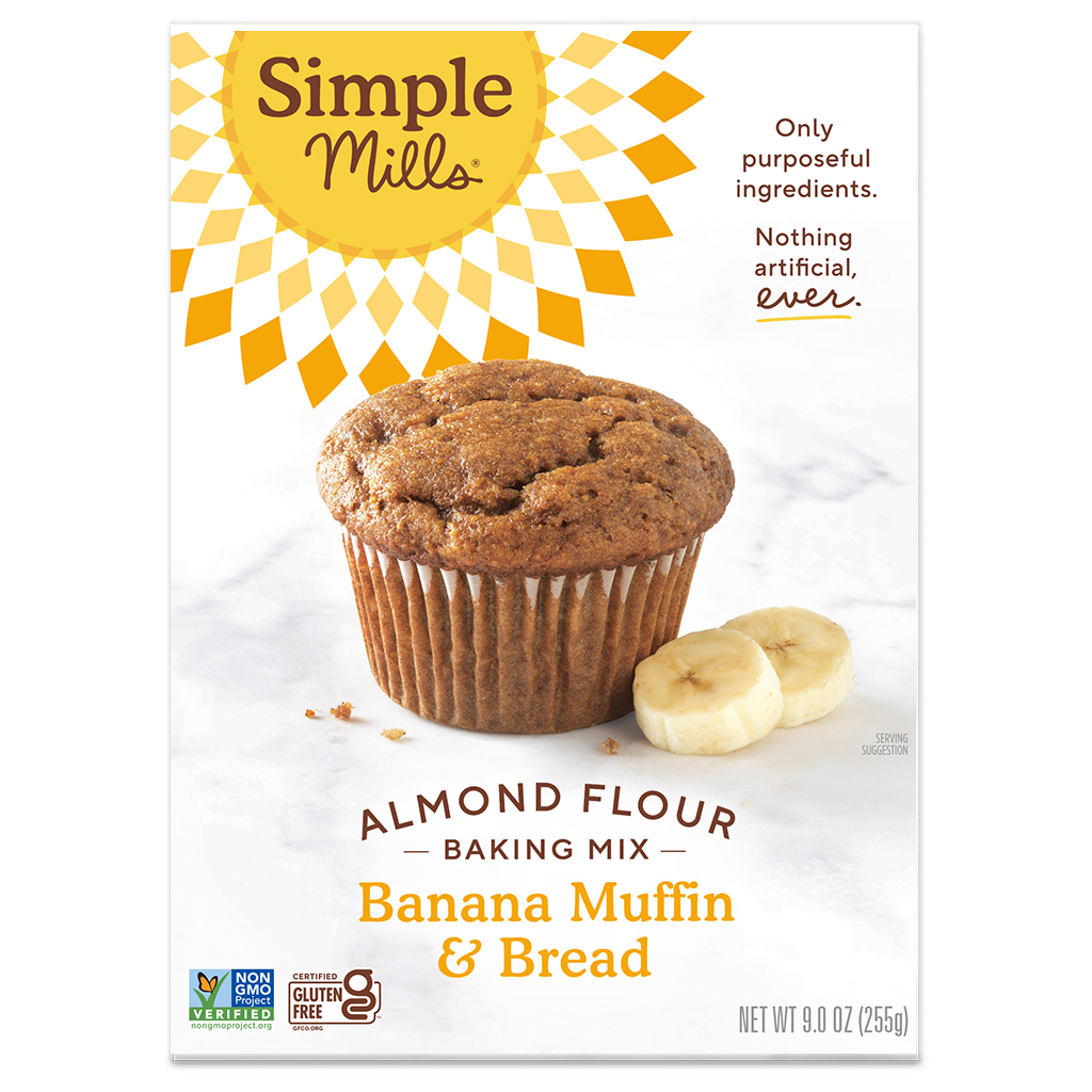 Almond Flour Baking Mix Banana Muffin & Bread