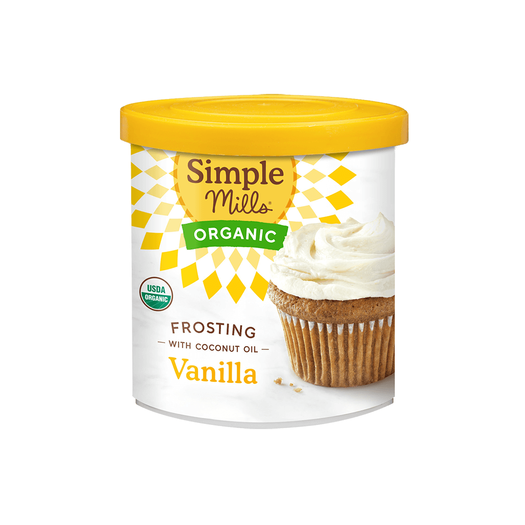 Organic Frosting with Coconut Oil Vanilla