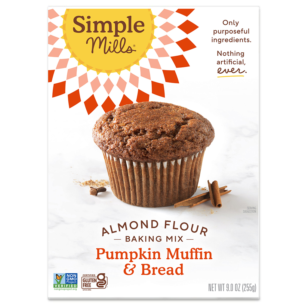 Almond Flour Baking Mix Pumpkin Muffin & Bread