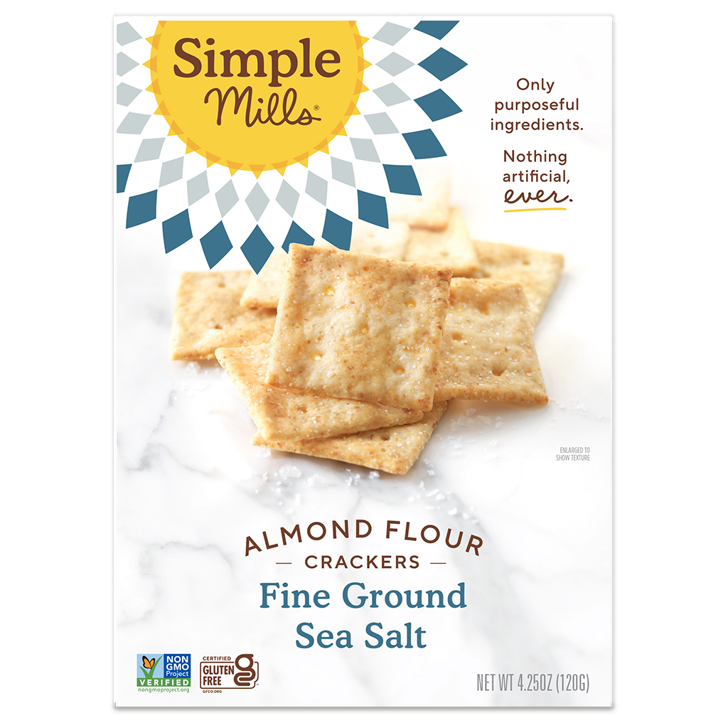 Almond Flour Crackers Fine Ground Sea Salt