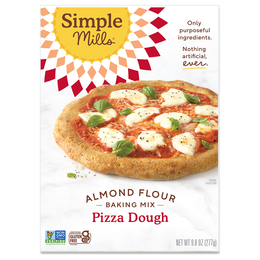 Almond Flour Baking Mix Pizza Dough